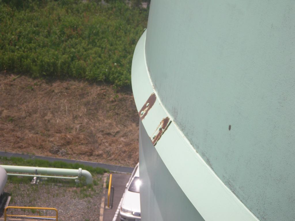 松江市ガス局 南工場球形ガスホルダー 着工前6
