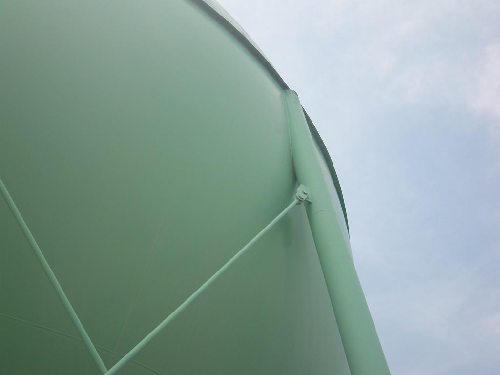 松江市ガス局 南工場球形ガスホルダー 着工前7