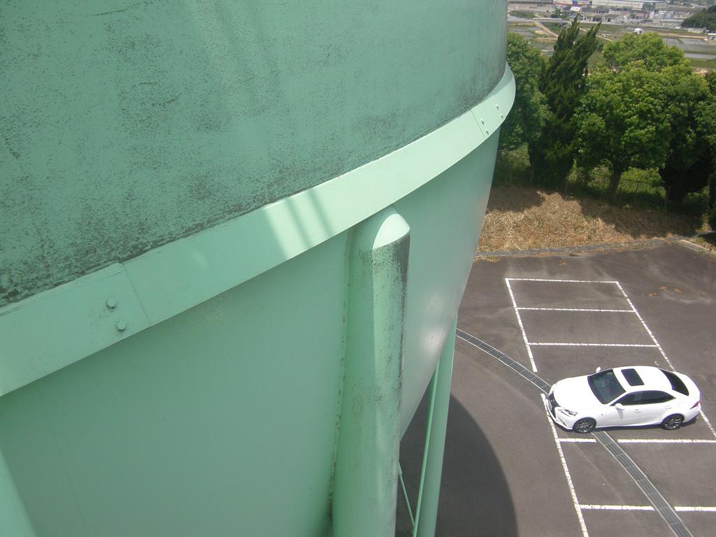 松江市ガス局 南工場球形ガスホルダー 着工前8