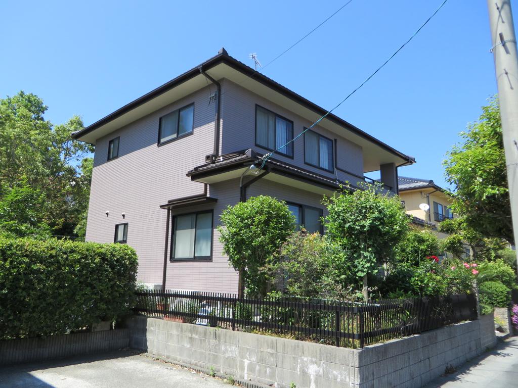 T様ご邸宅/2016年6月竣工 外壁:ナノコンポジットW/after1