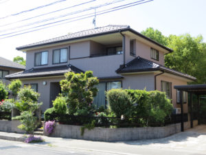 T様ご邸宅/2016年6月竣工 外壁:ナノコンポジットW/after2