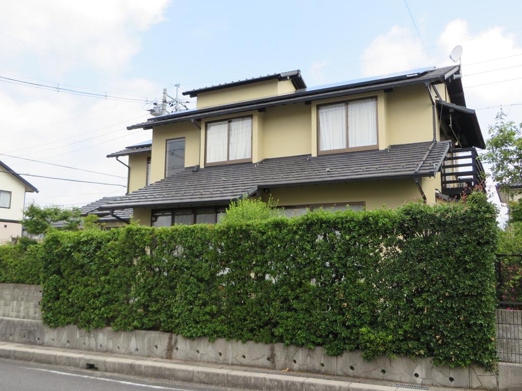 A様ご邸宅/2016年6月竣工 外壁:ナノコンポジットW / after2