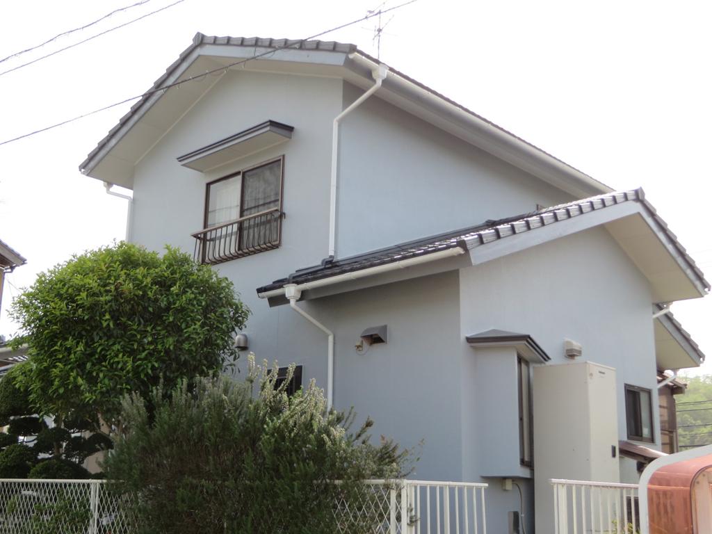 I様ご邸宅/2016年5月竣工 外壁:シリコンテックス/屋根:ヤネフレッシュSi after2