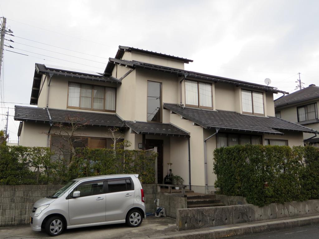 A様ご邸宅/2016年6月竣工 外壁:ナノコンポジットW / before1