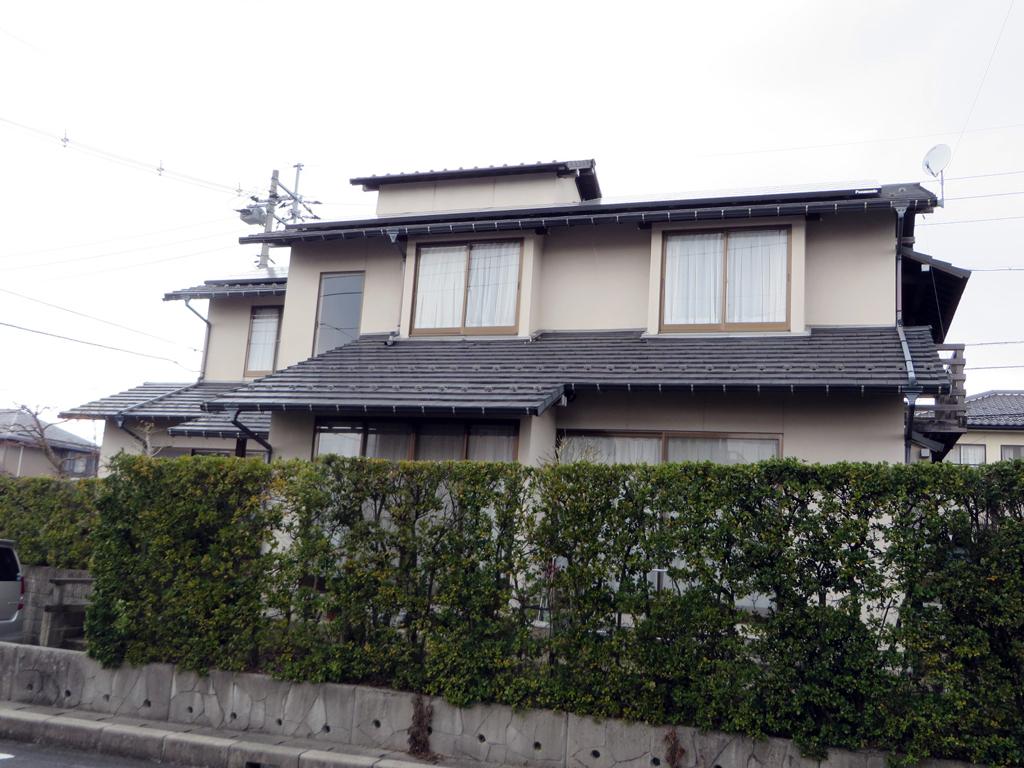 A様ご邸宅/2016年6月竣工 外壁:ナノコンポジットW / before2