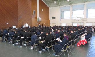 松江南高校企業ガイダンス