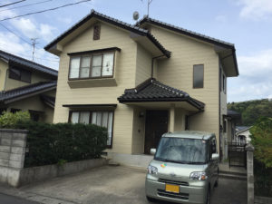 松江市 外壁塗装 S邸 着工前