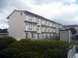 島根県営住宅(松江市新古曽志団地)4号棟外壁改修外工事 竣工0
