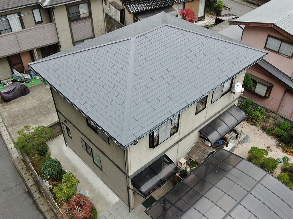 I様ご邸宅/2018年11月竣工 屋根:クールタイトSi 竣工