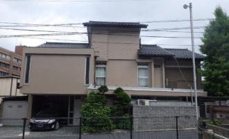 M様ご邸宅/2018年6月竣工 外壁:セラミクリーン/屋上+バルコニー:ウレタン塗膜防水 竣工1