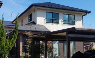 N様ご邸宅/2018年10月竣工 外壁:ナノコンポジットW 竣工1