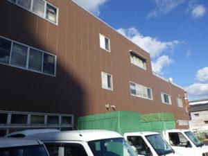 平田生花店 様/2018年10月竣工 外壁:セラミクリーン/屋上+バルコニー:シート防水 竣工2