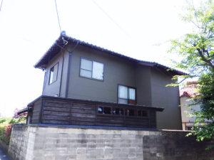 M様ご邸宅/2018年6月竣工 外壁:セラミクリーン/木部:キシラデコール 竣工2