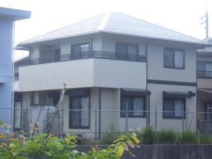 Y様ご邸宅/2018年6月竣工 外壁:セラミクリーン/屋根:クールタイトSi/玄関扉カバー工法改修 竣工3