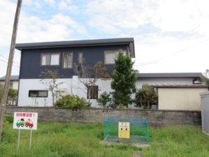 I様ご邸宅/2018年9月竣工 外壁:ナノコンポジットW/屋根:クールタイトSi 竣工後3