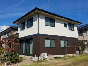N様ご邸宅/2018年10月竣工 外壁:ナノコンポジットW 竣工3