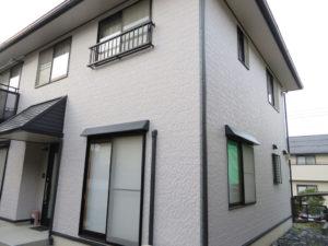 N様ご邸宅/2018年11月竣工 外壁:ナノコンポジットW/屋根:クールタイトSi 竣工3