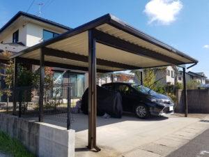 N様ご邸宅/2018年10月竣工 外壁:ナノコンポジットW 竣工5