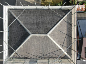 I様ご邸宅/2018年11月竣工 屋根:クールタイトSi 着工前