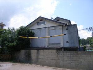 M様ご邸宅/2018年6月竣工 外壁:セラミクリーン/屋上+バルコニー:ウレタン塗膜防水 着工前2