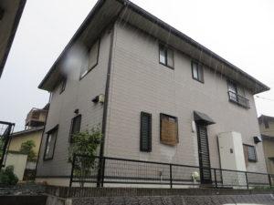 N様ご邸宅/2018年11月竣工 外壁:ナノコンポジットW/屋根:クールタイトSi 着工前2
