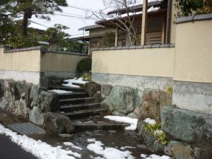 U様ご邸宅/2018年12月竣工 塀:ナノコンポジットW・セラミガード 着工前2