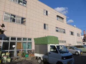 平田生花店 様/2018年10月竣工 外壁:セラミクリーン/屋上+バルコニー:シート防水 着工前2