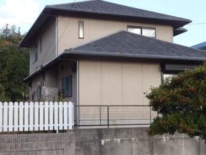 Y様ご邸宅/2018年6月竣工 外壁:セラミクリーン/屋根:クールタイトSi/玄関扉カバー工法改修 着工前2