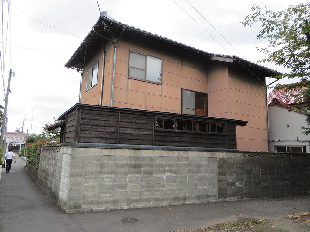 M様ご邸宅/2018年6月竣工 外壁:セラミクリーン/木部:キシラデコール 着工前2