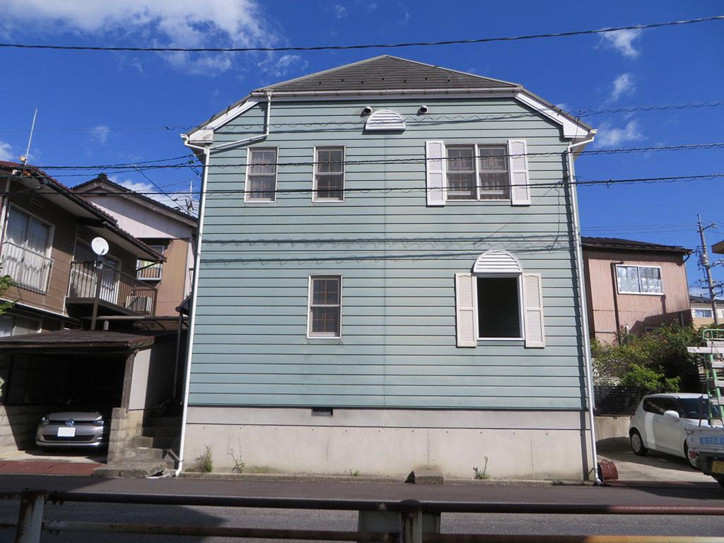 Y様ご邸宅/2018年5月竣工 外壁:クリーンマイルドシリコン/屋根:クールタイトSi 着工前2
