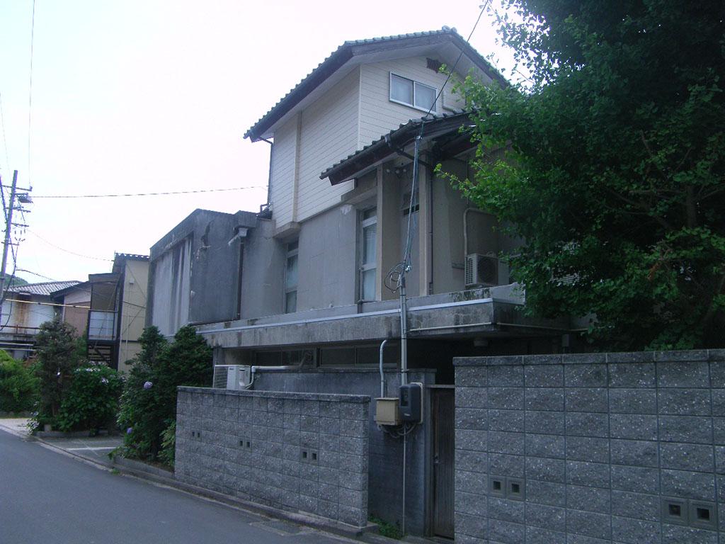 M様ご邸宅/2018年6月竣工 外壁:セラミクリーン/屋上+バルコニー:ウレタン塗膜防水 着工前3