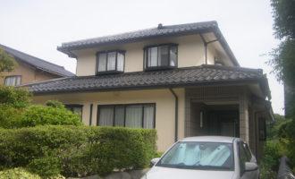 H様ご邸宅/2019年6月竣工 外壁:ナノコンポジットW/屋根:クールタイトSi