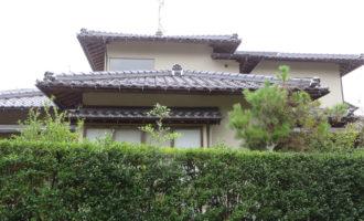 K様ご邸宅/2019年9月竣工 外壁:シリコンテックス/屋根:補修/雨樋:取り替え