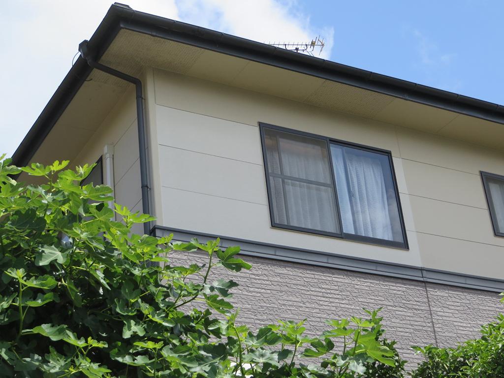 K様ご邸宅/2019年6月竣工 外壁:水性セラミシリコン/バルコニー・外壁:サイディング張替