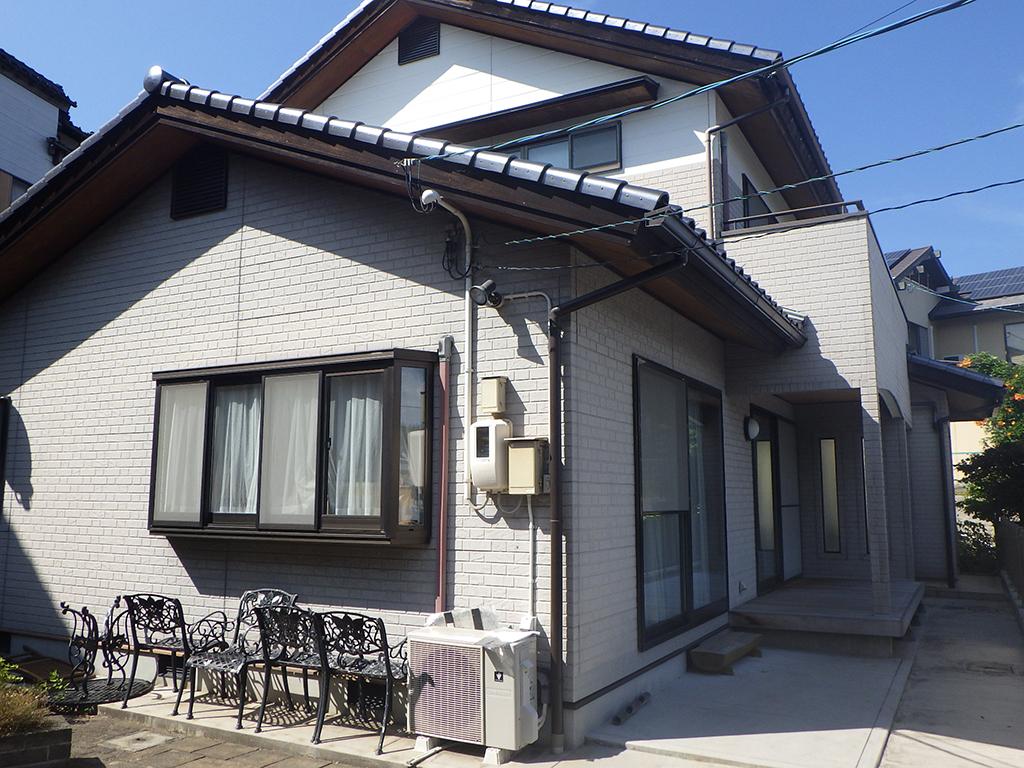 N様ご邸宅/2019年11月竣工 外壁:ナノコンポジットW/木部:ガードラックアクア
