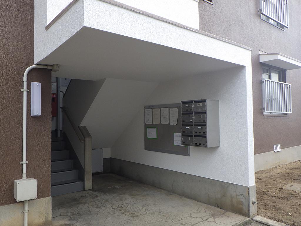 島根県営住宅(出雲市小山団地4号棟)外壁改修外工事 竣工3