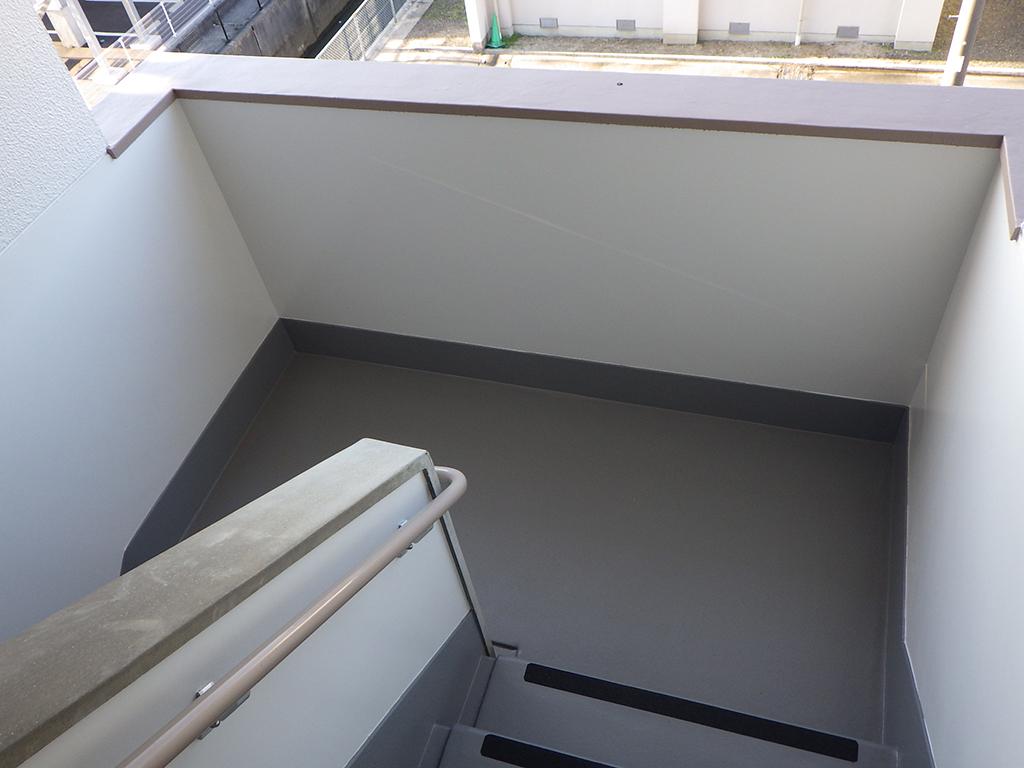 島根県営住宅(出雲市小山団地4号棟)外壁改修外工事 竣工7