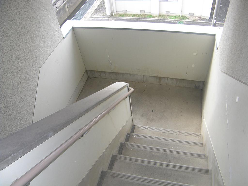 島根県営住宅(出雲市小山団地4号棟)外壁改修外工事 着工前7