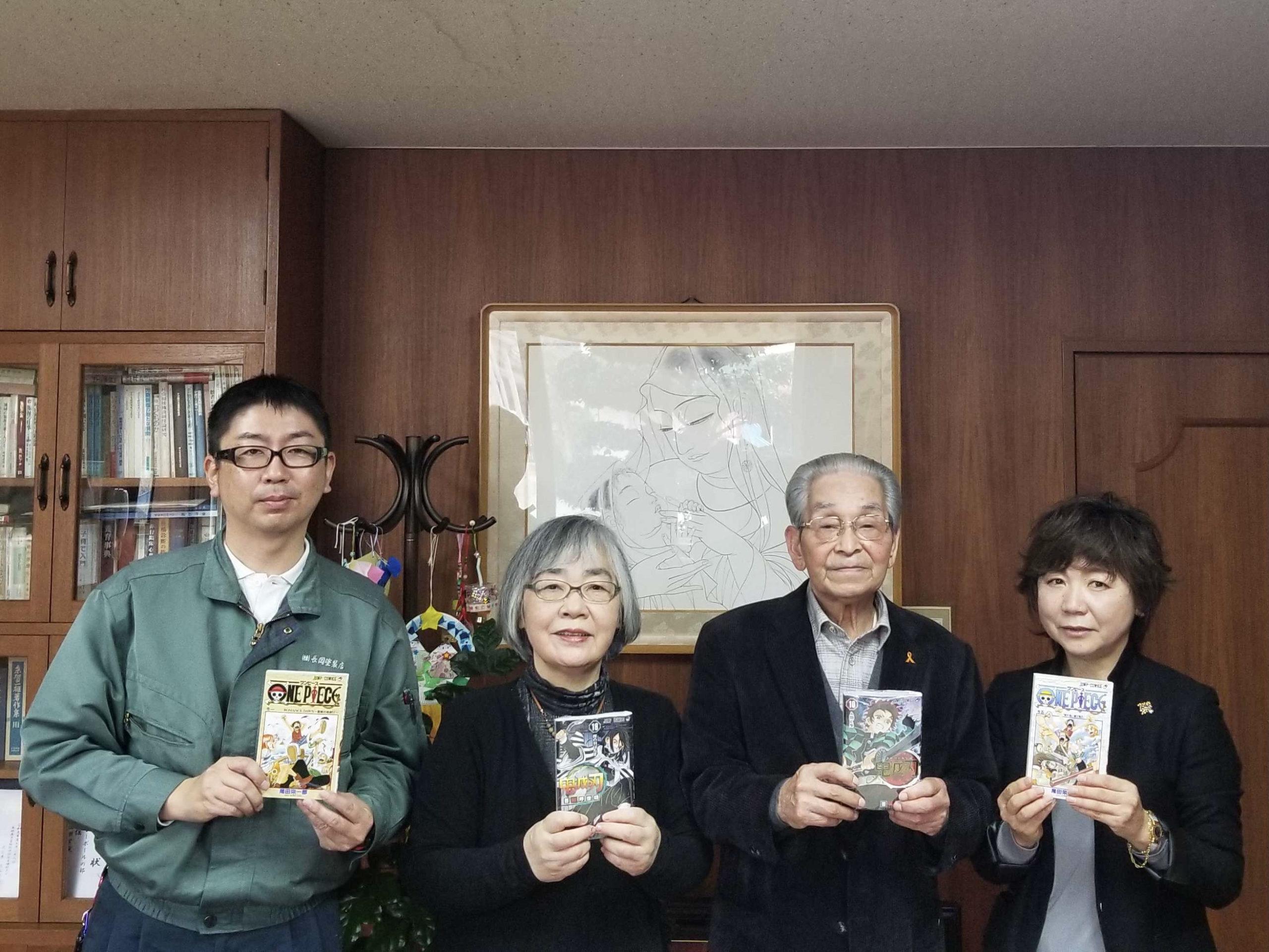 双樹学園さまへ図書の寄贈をしました