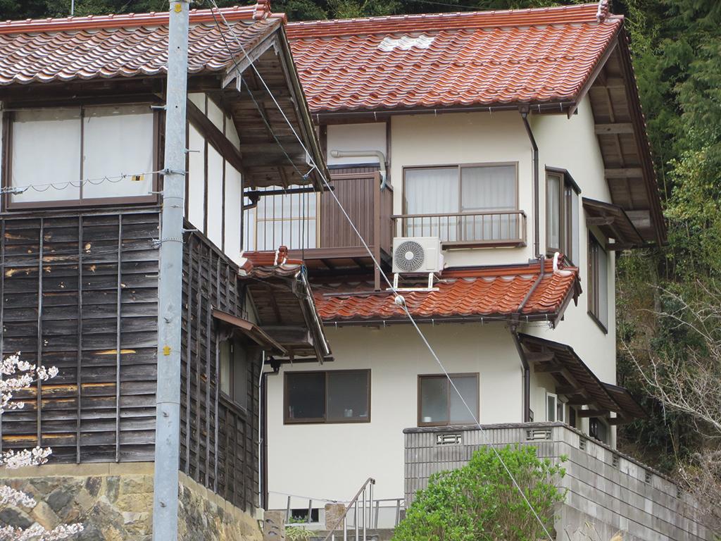 F様ご邸宅/2020年3月竣工 外壁:シリコンテックス/雨樋取替 竣工1